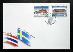 Thailand Stamp FDC 2002 Sweden Thai Joint Issue - Thailand