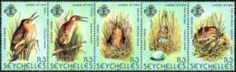 SEYCHELLES 1982 Birds, Yellow Bittern, Fauna MNH - Seychelles (1976-...)