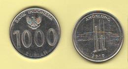 Indonesia 1000 Rupees 2010 Angklung - Indonésie