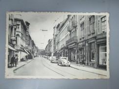 CPA BELGIQUE CHARLEROI RUE NEUVE COMMERCES VOITURES ANCIENNES - Charleroi