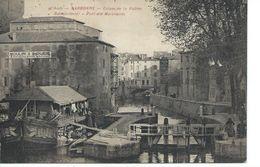 11 Aude Narbonne Ecluse De La Robine Bateau Lavoir Pont Des Marchands - Narbonne
