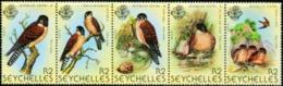 SEYCHELLES 1980 Birds, Eagles, Fauna MNH - Seychelles (1976-...)