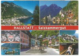 Lac Hallstättersee,ses Mines De Sel.(patrimoine Mondial De L'Unesco),carte Postale Adressée ANDORRA, Avec Timbre à Date - Hallstatt