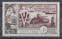 INDE - 1954 - P. Aèrienne N° 22 - Neuf - X - Trace De Charnière Légère - TB - Cote 9.50 € - India (1892-1954)