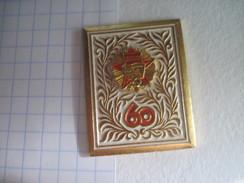 USSR Russia 60th Anniversary Of  Bolshevik Revolution Order Of October Revolution - Badges