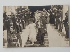 CPA Descente Des Marches Cérémonie Officielle Monaco. - Prince's Palace