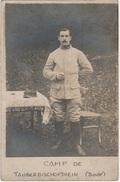 Carte Photo -Prisonnier De Guerre Du Camp De TAUBERBISCHAFSHEIM - L 1015 - Guerre 1914-18