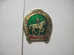 USSR Dressage European Chempionship IN Kyiv Kiev 1975 - Badges
