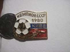 USSR Ukraine Dynamo Dinamo Kyiv National Champion 1980 - Football