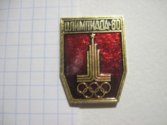 USSR Russia Moscow 80 Olympics Emblem - Olympic Games