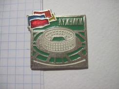 USSR Russia Luzhniki Sport Ground - Badges