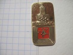 USSR Russia Moscow - 80 Olympics Pentathlon - Olympic Games