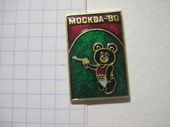 USSR Russia Moscow - 80 Olympics Mascot Misha Shooting - Olympic Games