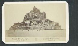 Photo Format  10,5cm X 6,5cm: Pepin à Laval: Vue Du Mont Saint Michel (Manche) - Anciennes (Av. 1900)
