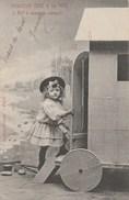 Enfant - 5 - Monsieur Bébé à La Mer - éditeur Lebon - Enfants