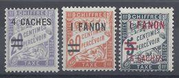 INDE - 1928 - N° 8 - 9 - 10 - Neufs Avec Traces De Charnières - X - TB - - Neufs