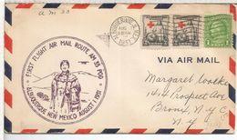 USA CC 1931 PRIMER VUELO ALBUQUERQUE  INDIO NATIVO NATIVE AMERICAN - American Indians