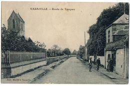 VARAVILLE - Carte Animée Route De Touques Et Café Barbot Epicerie - France