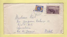 Alger Destination Bresil - 1958 - Covers & Documents