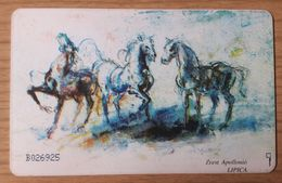 SLOVENIA Lipica Horses Lipizzaner  Phonecard 20 Impulz - Slowenien
