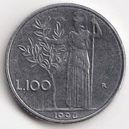 @Y@   Italië  100 Lire  1990          (4713) - 1946-…: Republik