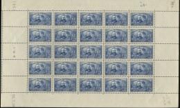 N°402 Pierre Et Marie Curie, Feuille Entière ** - Unused Stamps