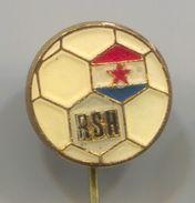 Handball, Balonmano - Federation Croatia ( In Yugoslavia ), Vintage Pin, Badge, Abzeichen, Enamel - Handball
