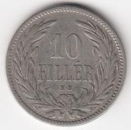 @Y@  Hongarije  10 Filler  1893          (4718) - Hongarije