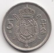 @Y@  Spanje 5 Peseta  1975          (4722) - [5] 1949-…: Monarchie