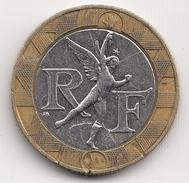 @Y@  Frankrijk 10 Francs   1988          (4723) - Frankrijk