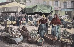 CPA - Marseille (13) - Marchandes D'Oignons - Le Grand Marché - Petits Métiers