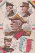 Militaria- Militaire :  Grand Duc Nicolas, Gén. Fench,albert 1 Er, Joffre 1915( Calendrier Bordeaux Journal) - Militaria
