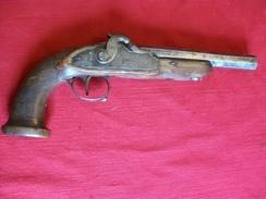 Pistolet De Voyage Officier - Armes Neutralisées