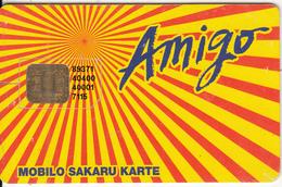 LATVIA - Amigo GSM, Used - Latvia