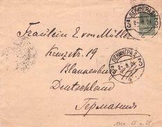 USSR - LETTER 1924 LENINGRAD -> BLANKENBURG/GERMANY - Storia Postale