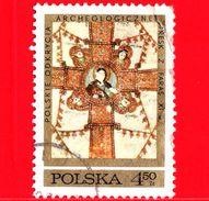 POLONIA - POLSKA - Usato - 1971 - Archeologia - Scavi Archeologici Polacchi In Nubia - Croce - Evangelisti - 4.50 - Gebraucht