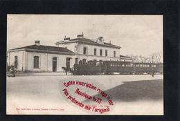 NN735 - ROMANS - La Gare - Drome - Carle Frère Et Soeurs - Romans Sur Isere