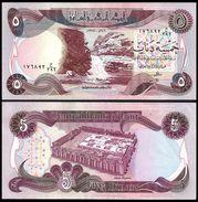 IRAQ 5 DINARS 1981 P 70 UNC - Iraq