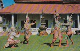 Thailand Bangkok Dancers Rama Versus Thotsakan Combat