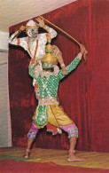 Thailand Bangkok Khon Dance The White Monkey Fighting The King O