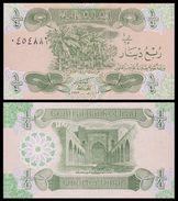 IRAQ 1/4 DINAR 1993 P 77 UNC - Iraq