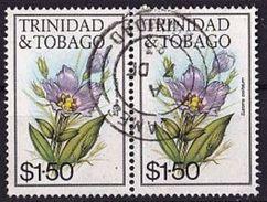 TRINIDAD & TOBAGO Mi. Nr. 490 I O Waagrechtes Paar (A-5-6) - Trinidad & Tobago (1962-...)