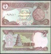 IRAQ 1/2 DINAR 1993 P 78b Lilac UNC - Iraq