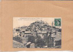ROGNES - 13 - Vue Générale Coté  Est Effondré Après Le Tremblement De Terre Di 11 Juin 1909 - POIT - - France