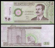IRAQ 25 DINARS 2001 P 86 UNC - Iraq