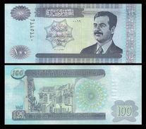 IRAQ 100 DINARS 2002 P 87 UNC - Iraq