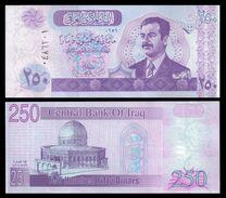 IRAQ 250 DINARS 2002 P 88 UNC - Iraq