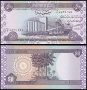 IRAQ 50 DINARS 2003 P 90 UNC - Iraq