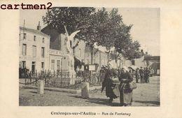 COULONGES-SUR-L'AUTIZE RUE DE FONTENAY 79 - Coulonges-sur-l'Autize