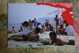 China. LAOLONGTOU Beach- Volleyball -OLD Postcard - Volleyball